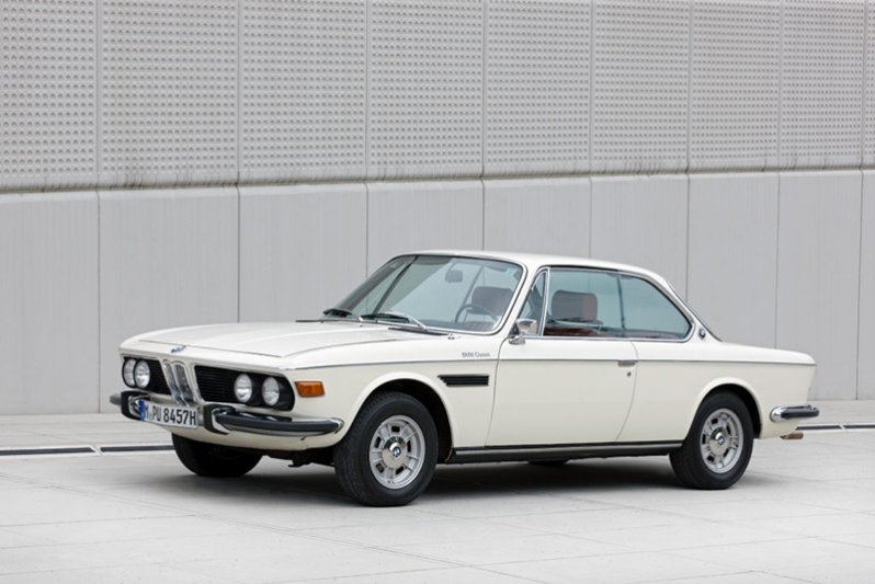 The BMW 3.0 CSI, year of manufacture 1973 – Exterior (07/2011).