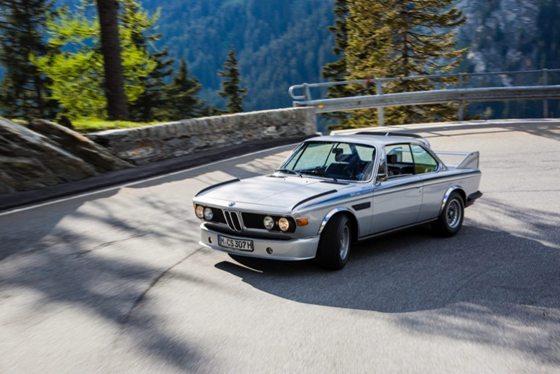 BMW 3.0 CSL with its wings and fins resembled the Cape Crusader's ride at the time earning the nickname, 'Batmobile'