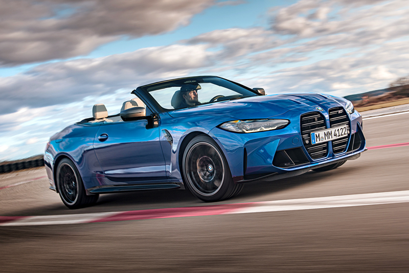 Our in-house rendering of the 2021 M4 Convertible
