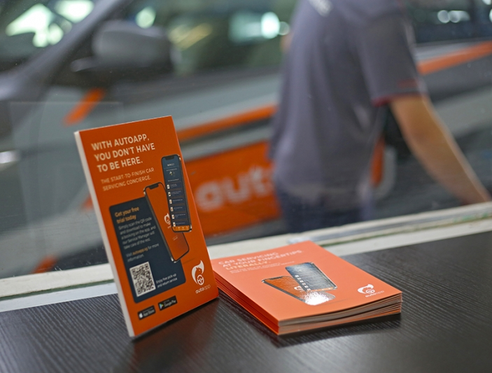 You don't have to be here: The days of endlessly waiting for your car are over with AutoApp.