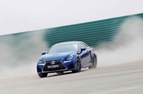 Hot Wasabi | Lexus RC-F