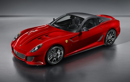 Just 599 cars will be built, each powered by an uprated version of the Enzo-derived 6.0-litre V12 engine. Power is up from 612bhp to 661bhp, while weight tumbles from 1,690kg to 1,605kg, allowing the GTO to sprint from 0-62mph in 3.4 seconds – 0.3 seconds faster than before – and hit a top speed in excess of 208mph.