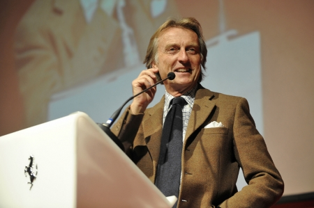 The BBC journalists also commented on Maranello's consistently growing sales and how output held steady during the year when the world economic crisis was at its most severe. Montezemolo explained this phenomenon by commenting: