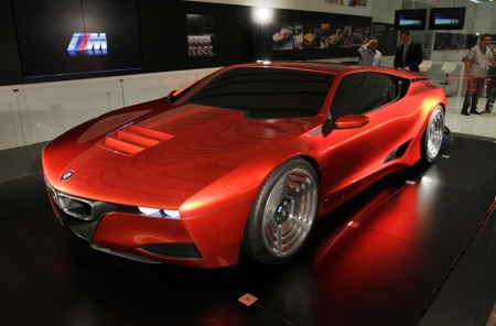 The BMW M1 Hommage takes long familiar elements from the BMW Design repertoire, reinterprets them and couches them in a new context. Its design brings together past and present, expanding the observer's perception through new design solutions that find their expression in typical BMW style.