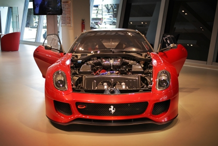 The Ferrari 599XX is characterised by an innovative electronic concept called the