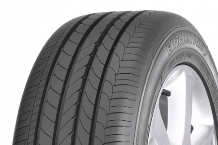 Performance wise, the Eagle EfficientGrip is designed for maximum control in all year round driving conditions and reduced wet-braking distances for rock-solid vehicle stability. With a high number of biting edges gripping the road surface for greater traction, the tyre is built with the maximum ratio of blading in the contact patch to achieve safer cornering and maximum grip in all driving conditions. Based on external tests on wet-braking performance, the Eagle EfficientGrip outperforms a leading competitor in its class. This wet-braking test was conducted by TÜV SÜD Automotive GmbH in Mireval, on size 205/55 R16 on a low mu wet asphalt surface, and showed that the Eagle EfficientGrip indeed reduces wet-braking distances of up to 1.7 metres versus a leading competitor. The Goodyear Eagle EfficientGrip is available in 17 sizes in 45 – 65 series, 15-17 inch rims with V, W and Y speed ratings.