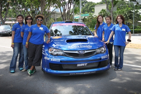Emerging as the winner of the pack was Su-Anne Tan, a 30-year-old stay-home mother. A driver of 11 years road experience, Su-Anne in her Subaru Impreza 1.5, impressed the judges and crowd with her swift timings, precise execution and exceptional accuracy.