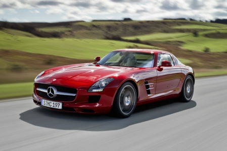 The Mercedes-Benz SLS AMG was up against 11 other contenders in the