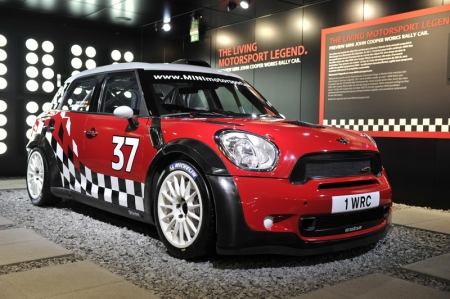 Mini's John Cooper Works S2000 WRC car