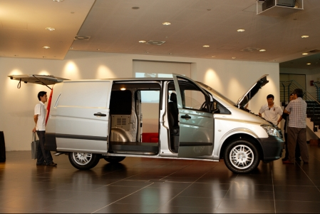 """We are very excited about the arrival of the new Mercedes-Benz Viano and Vito in Singapore. I am sure these two outstanding vehicles will be the top choice and the most reliable partner for businesses too,"" said Mr Wolfgang Huppenbauer, President and CEO of Daimler South East Asia."