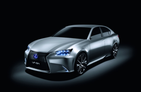 Built on a rear-wheel drive platform, it offers generous interior space for four occupants with a stretched greenhouse design. The LED lighting is one of the examples of new materials, electronics and dynamic systems we could see in future Lexus cars.