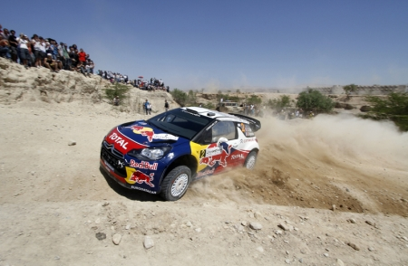 After 14 punishing gravel special stages in the Jordan Valley, Ogier finished the two day event ahead of second-place Jari-Matti Latvala of Finland after trailing him in the final Power Stage, near the Dead Sea. In the end it was Ogier who came out tops as he recorded the fastest timing to best Latvala by half a second.