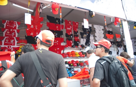 The rest of the stalls rounded up the carnival-like atmosphere. The official Formula One team merchandise booth sold all kinds of F1 memorabilia. Team booths from Red Bull Racing, Vodafone McLaren, Mercedes and Ferrari were present too. Malaysian Red Crescent Society members were on site, collecting donations to help victims of the tsunami and earthquakes in Japan.