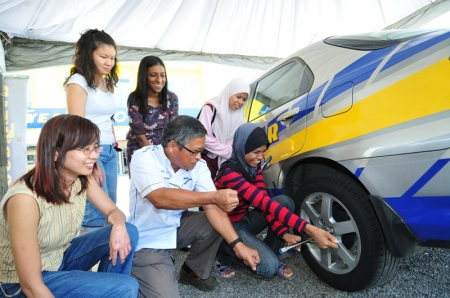 """It is important and crucial for women to be able to take care of themselves and their families in their cars and on the roads. This workshop is a great opportunity for women to come together in a familiar, interactive and safe environment to better understand their vehicles. This free community workshop is open to all and should not be missed."" said Ivy Peng, Sales Director of Goodyear Malaysia. Goodyear will be running two more ""Survival Training"" workshops in the third and fourth quarter of the year. Those interested to participate can register and find out more information on the programme on Goodyear Malaysia's official website."