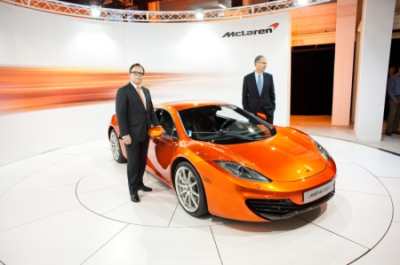The innovative 12C is unique in the core segment of the sports car market. This two-seat, mid-engine model features a revolutionary one-piece, carbon-fibre chassis structure, the carbon MonoCell. It is the first time a car has featured a one-piece, carbon fibre structure; a strong and lightweight engineering solution that comes straight from the world of motor sports where McLaren introduced this technology to Formula 1 in 1981.