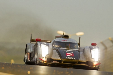 The 79th 24 Heures du Mans, or widely known as the 24 hours of Le Mans has been one of the most drama filled races in recent memory. Audi's McNish and Rockenfeller were involved in two separate crashes that reduced their Audi R18 TDI cars to pieces. McNish went out in the first hour after coming into contact with a slower Ferrari, skidding across the gravel trap and slamming hard into the barriers, showering journalists and track crew with fragments of the car.