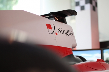 """At SingTel, we constantly look out for the latest technologies that deliver unique experiences to Singaporeans. The upgraded race simulators are a perfect example of our belief that amazing things happen when we think big,"" said Mr. Derrick Heng, Director of Brand Experience, SingTel."