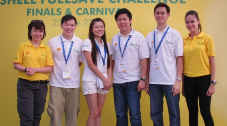 He is joined by fellow Shell FuelSave Team members Daniel Lim, a 35-year-old curriculum planner, Arthur Foo, a 29-year-old project manager at the Nanyang Technological University, and Diana Lim, a 30-year-old mother and manager at Far East Organization.