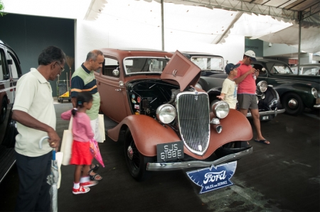 The Motoring Heritage Day is a collaboration between the National Heritage Board (NHB) and the Malaysia and Singapore Vintage Car Register (MSVCR). This event also presented the public a rare opportunity to come up close and personal with these iconic motoring gems.