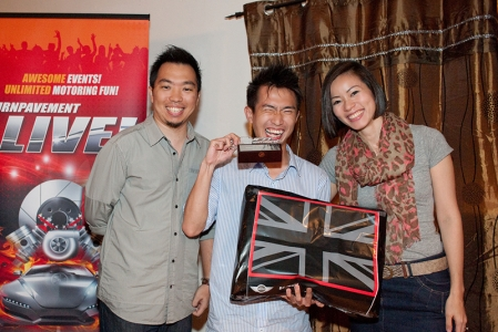 2nd place went to Entry No. 2. Owner Zach Lau was the only cabriolet who entered the competition.