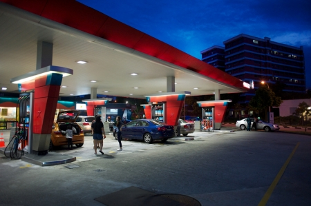We tank up our cars with Techron 98 Platinum petrol at Caltex's Jurong West station. It's a perfect place to start off any trip up north as it is within close proximity to Tuas checkpoint.