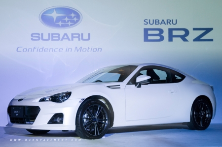 The name BRZ stands for Boxer engine, Rear-wheel drive, Zenith, which embodies Subaru's passion to design and develop an ultimate sports car that features their core technology, the Boxer engine. Developed as a joint-project between Subaru and Toyota Motor Corporation, the BRZ realises both manufacturers' ambitions to offer a wide range of customers a pure sports car with superior steering response and driving pleasure.