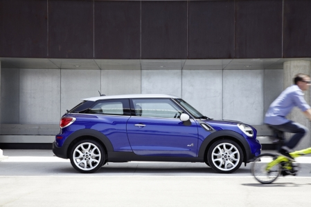 The Paceman will come in quite a powerful engine line-up, with standard lowered sports suspension that will lend to the trademark MINI go-kart feel.