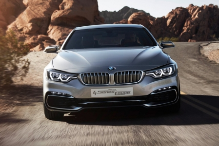 With a wheelbase that measures 50 mm longer than that of the existing 3-Series Coupe, (45 mm has been added to the front track and 80 mm to the rear track), the car looks substantially longer in the photos already. At 1,826 mm wide, the BMW 4-Series Coupe Concept is 44 mm broader than its predecessor, its roof line is also 16 mm lower - all this results in a more low-slung stance and sportier proportions.