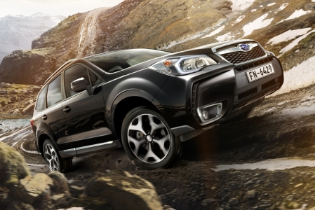 Enter the new Forester XT. With a 2-litre 'Direct Injection Turbo' flat-four putting out 240 bhp and 350 Nm, the car will sprint to 100 in 7.5s and top out at 221 km/h. And, this being a crossover, the long-travel suspension should be able to soak up the bumps quite decently. The perfect replacement for newly minted dads needing something more family-friendly than their hopped-up WRXes?