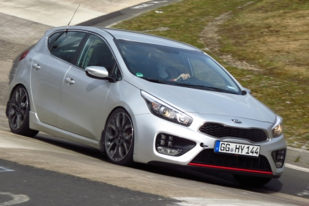 "Then again, it doesn't necessarily have to out-drag the competition, because Kia is pitching the GT as a brisk all-rounder designed for ""everyday usability and civility, not a track special"" (although its chassis was developed at the Nurburgring). So even though it gets re-tuned springs and dampers, a thicker rear anti-roll bar and larger brakes, its multi-link suspension should ensure a tolerable ride."