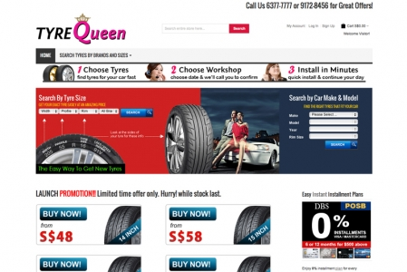 With a ready-stock of USD$5million worth of tyres, they look set to be crowned one of the biggest players in the tyre-replacement market. A quick look at their portal revealed a simple and easy-to-navigate website. Some of the tyre brands we found include well-known names like Continental, Pirelli, Michelin, Bridgestone, Goodyear, Yokohama, Toyo and Kumho. While newer brands like Westlake are also available.