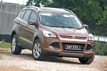 Now, the arrival of the Kuga is also a timely one… Yes, despite the fact that (a) COEs are high and the change in policy makes every car buyer shed a tear or two and (b) banks are not obligated to grant you your wish, the Kuga gives a new option for those looking at the Qashqai/Tiguan 1.4 TSI/3008/Tucson/Sportage/CX-5/ASX/XV/Grand Vitara/RAV4 (my, my, my isn't that quite a list) - who are all not exactly new in our market - a new candidate.
