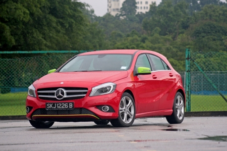 Oh yes, Mercedes's A-Class; now how could we ever forget about it?