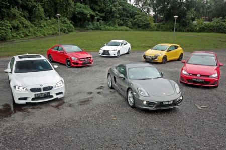 We have carefully selected and picked six different cars that we feel are truly special in 2013. Individually, they all answer to different classes of consumers, but when you look at them closer, they are all cars that were built also to provide the most fun for their respective price tags. We have it all here: from a 1.6-litre all the way to a monstrous 4.4-litre. Without any further delay, here they are, Burnpavement's Best Picks of 2013 (left to right, clockwise direction): BMW M5 Competition Pack, Mercedes-Benz CLA200, Lexus IS F-Sport, Renault Megane RS265, Volkswagen Golf GTI, Porsche Cayman.