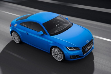 The aggressive-looking front end sports an angular grille flanked by new trapezoidal-shaped headlights with a new LED design.