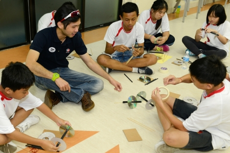The Caltex PAssion for Kids programme was first launched in 2012. Now into its third year, the programme seeks to extend its community outreach efforts to about 150 students from less privileged background, aged 11 to 14, from PA's 8 T-Net Club (Teens Network Club) as well as students (i.e. from eight schools) under the Ministry of Education's (MOE) Financial Assistance Scheme (FAS).