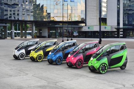 The chic and colourful three and four-wheelers are set to prove how clean and easy urban motoring can be by taking part in a major pilot programme in the French city of Grenoble. Toyota is a key partner in the three-year low-carbon car sharing scheme, which is expected to transform the way people plan and make local journeys.
