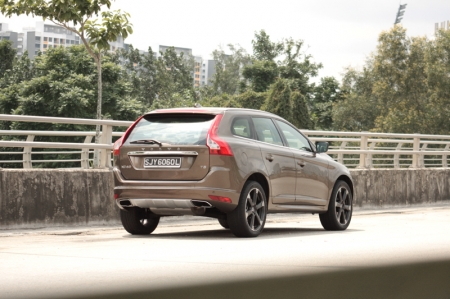 """And it now feels friskier to drive, more apparent if you're the sort who enjoys participating in traffic light grand prix. Floor the accelerator and you can feel the XC60 pulling away without much hesitance, despite the fact it still weighs in close to a hefty 1.8-tonne. It does the 0-100 km/h sprint in 7.2 seconds, which is good enough to keep up with sports sedans whose drivers would normally think lesser of SUVs. (""""How on earth can that tank keep up with me? No way! Hahaha. Wait, what? How come it's inching closer… and… passing me?!"""")"""