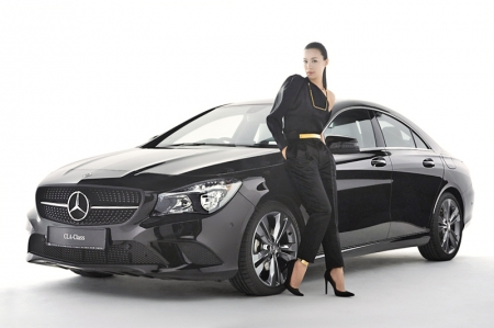 Just recently, she took time off her busy schedule to talk to Burnpavement about her involvement with the brand and the car she was presented with by Mercedes-Benz as part of her 'duty' as ambassador: the CLA 200. And of course, we even slotted in some 'bonus' questions; let's just say we're impressed (like how we equally could not stop looking at her smile)…