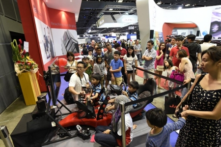 """We have certainly been pleasantly surprised by the number of visitors to the Singapore Motorshow. Breaking our record for the 2008 show which was held over ten days is a fantastic achievement for everyone involved,"" said Glenn Tan, President of the Motor Traders Association of Singapore. ""We also made the effort to make this year's Motorshow more family-oriented by working with our various sponsors and exhibitors to bring in different activities and they have certainly paid off."