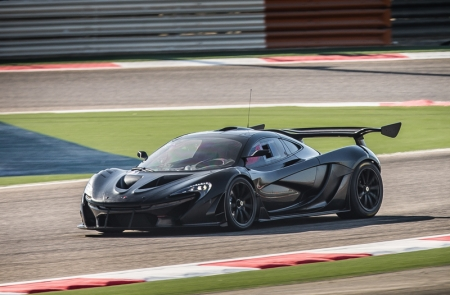 As testing continues, the McLaren P1 GTR looks set to be one of the fastest to ever wear the famous McLaren 'speed mark'. Through significant weight-saving measures and track-optimisation of the petrol-electric powertrain, McLaren P1 GTR will boast a power-to-weight ratio increase in excess of 10 percent over the road-going model, to more than 690 bhp per tonne.