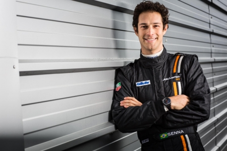 Bruno, nephew of triple Formula 1 world champion Ayrton, has extensive experience of single-seater and endurance racing. A race winner in British Formula 3 and runner up in the 2008 GP2 series, he progressed to the pinnacle of the sport racing for three seasons in Formula 1. Bruno raced with McLaren GT in a one-off appearance in the 12C GT3 at the Total 24 Hours of Spa in 2013 for customer team Von Ryan Racing.