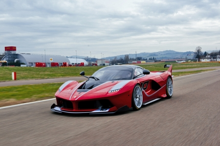 The FXX-K has been named Red Dot 'Best of the Best' for the top design quality and ground-breaking design, while both the California T and LaFerrari were also singled out by the international jury of Red Dot Awards for the high quality of their design.