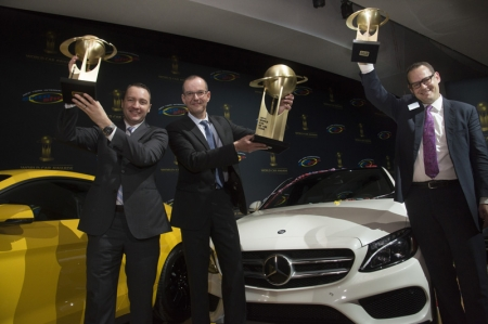 Mercedes-Benz was the only automobile manufacturer to make it into the final round of the awards with five vehicles. This commanding performance is unprecedented in the 11-year history of the