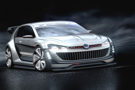 "Volkswagen's latest digital creation can be clothed in ""Reflex Silver"", ""Gran Turismo Red"", ""Lapiz Blue"" or ""Oryx White"" and is now available to Gran Turismo 6 players for downloading."