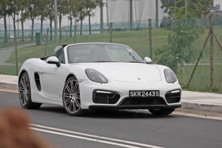 And so the Porsche Boxster GTS is one wholesome Boxster with an ebullient driving character. It is properly sticky and responsive, and delivers all the right notes; as you can see, there's nothing to fault and Porsche deserves a round of applause for this.