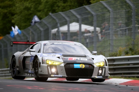 During the 24 hours the lead changed 35 times — a record in the event that has been held since 1970. After the race's midpoint, either the number '28' R8 LMS or its fiercest rival was running in front, depending on the pit stop sequence. In the end, the Belgian Audi team prevailed with a concentrated performance of its drivers and solid teamwork - Audi Sport Team WRT with Christopher Mies/Nico Müller/Edward Sandström/Laurens Vanthoor was 40 seconds faster than the BMW Team Marc VDS.