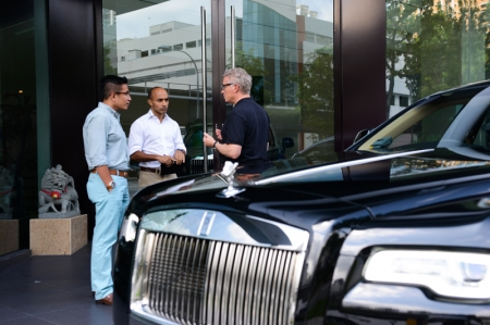 Which is why Rolls-Royce conducts their very own driver training programme. This exclusive three-days programme teaches chauffeurs - usually sent by their employer - everything they need to know about the Rolls-Royce brand and history, followed by practical know-hows. Rolls-Royce's 'White Glove Programme' initiative was first introduced in 2013; it teaches chauffeurs driving etiquette and best handling practices to deliver the brand's exclusive 'magic carpet ride' to their employers, who obviously want the best comfort on the road their money could buy.