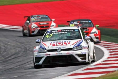 The production-based, 330 bhp concept car is assembled in accordance with TCR Regulations and is intended to allow Volkswagen to evaluate a possible customer racing programme as of the 2016 season. In order to accelerate the development process, the new Golf will be tested under competitive conditions in the TCR between now and the end of the season.