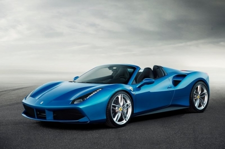 Just like every mid-engined V8 Ferrari before it, the 488 Spider's arrival comes just a few months after the coupe's, and apart from the folding roof, is mechanically identical. This means the 3.9-litre turbocharged V8 contains 661 rampaging Italian ponies, about 100 more than the old naturally aspirated 4.5-litre engine. So despite the Spider weighing about 50kg more than the GTB at 1525kg, Ferrari claims the 0-100km/h time is unchanged at 3 seconds flat.